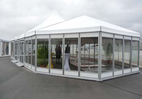 A tent – a removable house