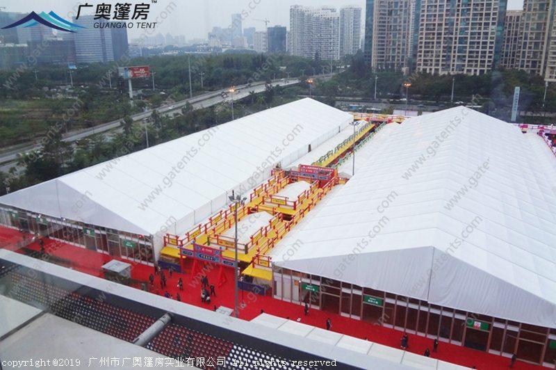 深圳湾国际时尚名品购物节篷房案例