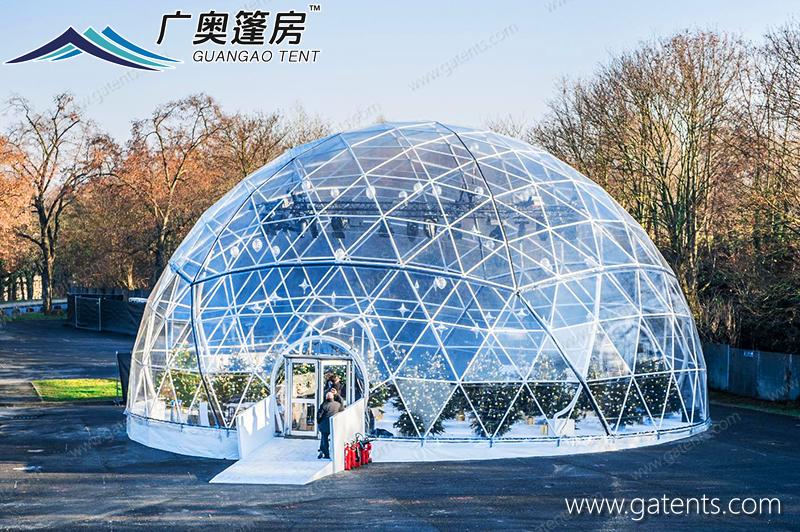 全透明球形篷房10