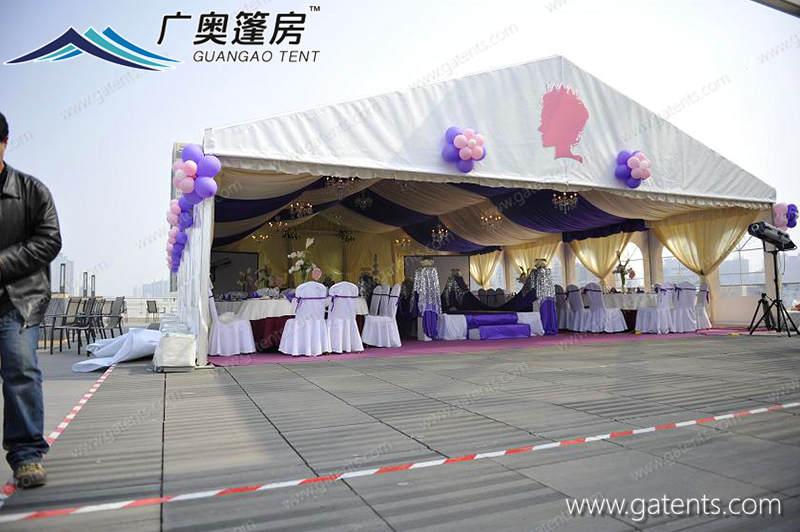 婚礼篷房07