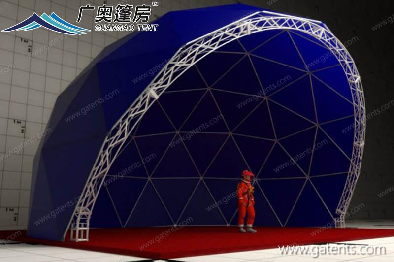 半开球形篷房03