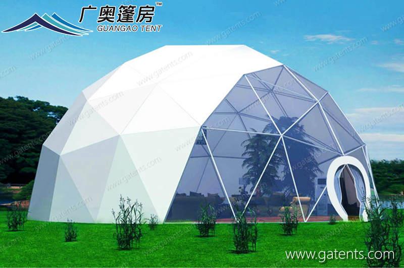 半透明球形篷房08