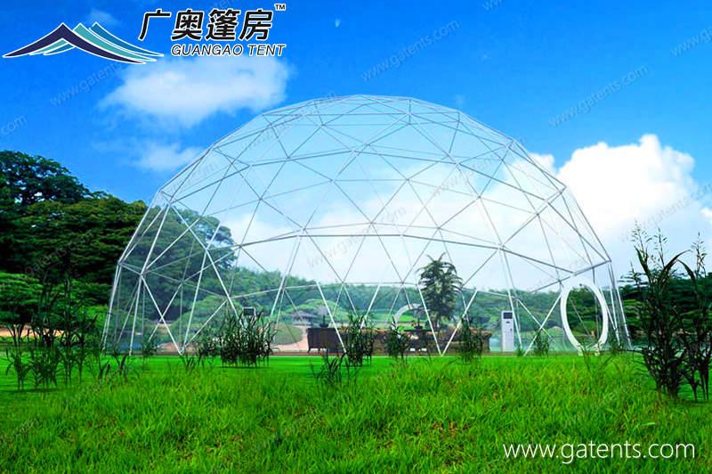 全透明球形篷房12