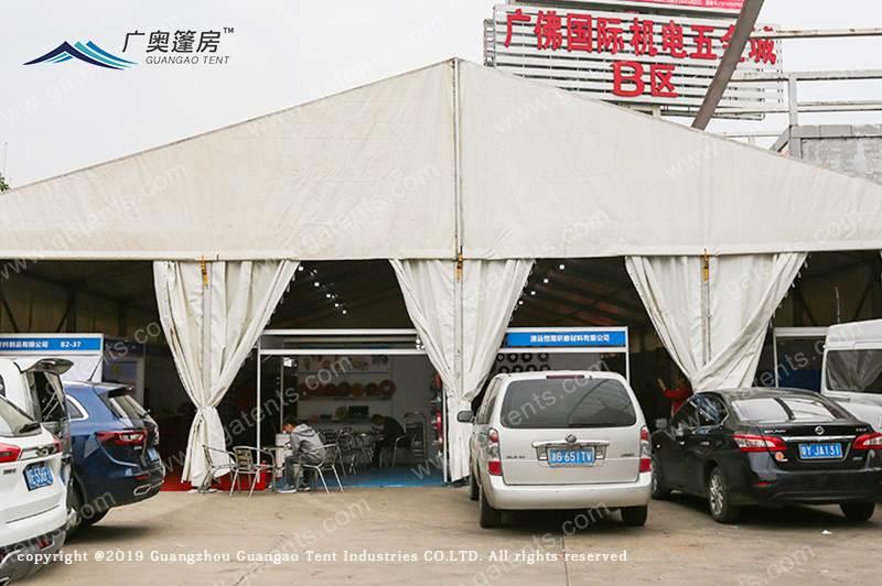 广佛国际机电五金城B区篷房搭建