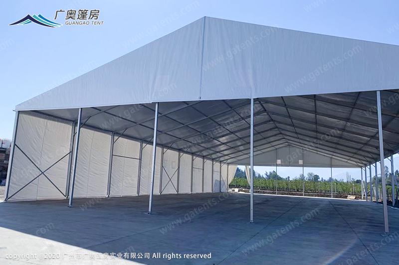 智利大型仓库篷房案例