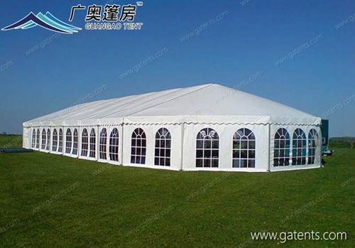 广奥篷房工厂解说:如何选择篷房材料设计技术