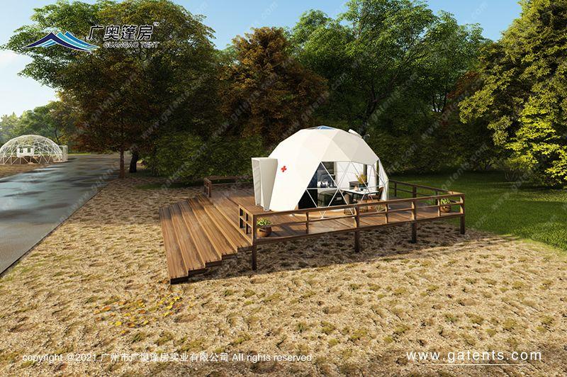 VIP隔离球形篷房14