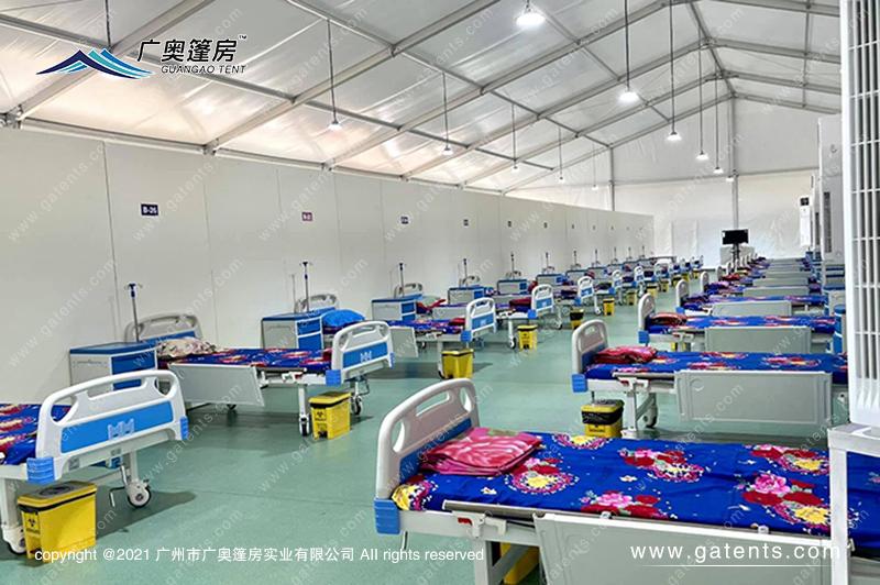 缅甸曼德勒昆明医院防疫篷房案例
