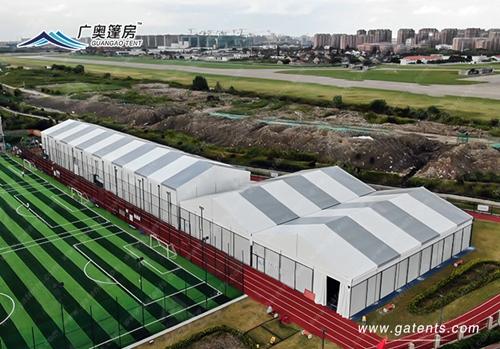 广奥打造大型装配式体育馆,为学校创设更好的体育活动环境