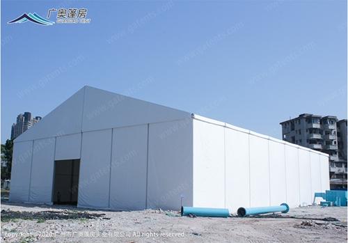 广奥重点知识:现在很多厂矿企业都选择用上篷房建筑的主要原因