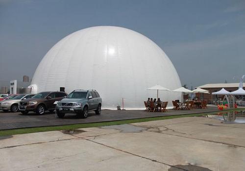 """篷房厂家讲解搭建球形篷房的难度是""""+""""还是""""-"""""""