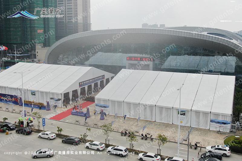 阳江五金博览会篷房案例